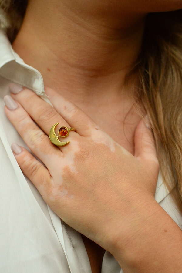 bague moon Lola Troisfontaines